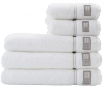 LEXINGTON - Hotel Towel White/Beige