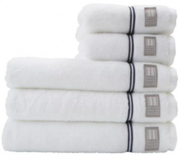LEXINGTON - Hotel Towel White/Blue