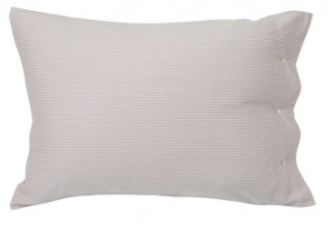 LEXINGTON - Hotel Tencel Stripe Lt Beige/White Putevar