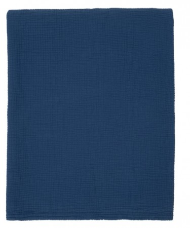 LEXINGTON - Cotton Bedspread, Blue